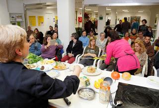 ARAGÓN CON GUSTO. Curso de cocina vegetariana para jóvenes (jueves, 3)