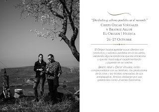Aragonia Culinaria en ARAGONIA PALAFOX con EL ORIGEN (miércoles y jueves, 26 y 27)
