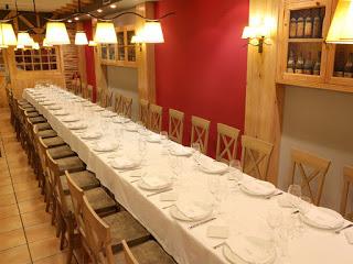 ARAGÓN CON GUSTO. Menú del restaurante LA BODEGA DE CHEMA, por 28 euros (del 28 de octubre al 6 de noviembre)