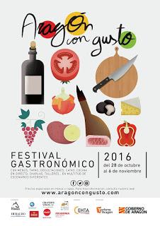 ARAGÓN CON GUSTO. Menú aragonés (del 28 de octubre a 4 de noviembre)