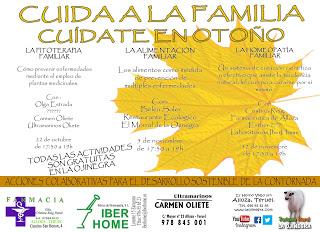 ALLOZA. Jornadas La Alimentación Familiar en La Ojinegra (sábado, 5)