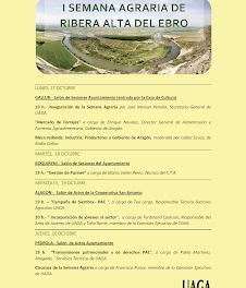 RIBERA ALTA DEL EBRO. I semana agraria (del 17 al 20)