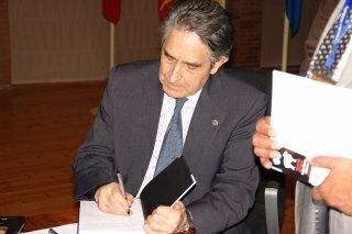 Lectura del discurso de ingreso a la Academia Aragonesa de Gastronomía de Isidro sierra Alfranca (martes, 25)
