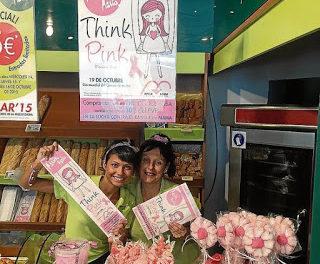 Pasteles especiales por el Día Mundial contra el Cáncer de Mama (mes de octubre)