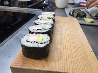 Curso de sushi en LA ZAROLA (domingo, 16)