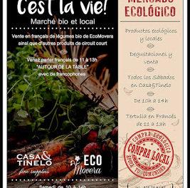 Mercado ecológico y práctica de francés (todos los sábados, desde el 22)