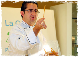 Charla del chef bilbilitano Alberto Lozano (lunes, 24)