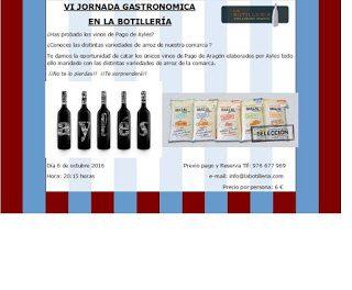 EJEA DE LOS CABALLEROS. VI Jornada Gastronómica (jueves, 6)