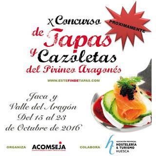JACETANIA. Concurso de tapas (del 15 al 23)