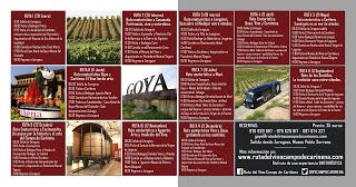 Excursión Ruta del Vino Campo de Cariñena (sábado, 3)