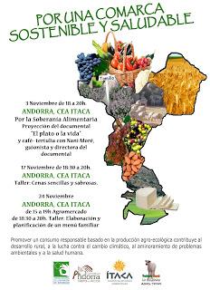 ANDORRA. Agromercado y taller de cocina (jueves, 24)