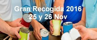 Búsqueda de voluntarios para la gran recogida de alimentos (hasta el 25 de noviembre)