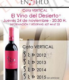 Cata vertical de vino (jueves, 24)