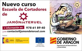 Curso en la Escuela de Cortadores de Jamón de Teruel (días 7, 8, 14 y 15)