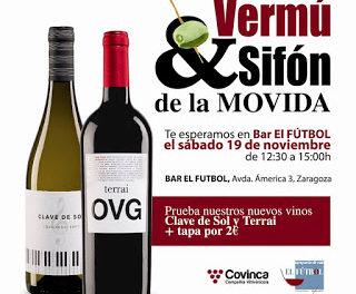 Rock&roll Vermouth&sifón La Movida en el Bar El Fútbol (sábado, 19)