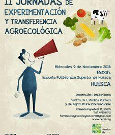 HUESCA. II Jornadas de Experimentación y Transferencia Agroecológica (miércoles, 9)