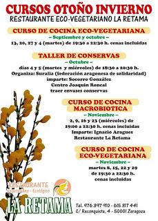 Curso de cocina eco-vegetariana (martes de noviembre)