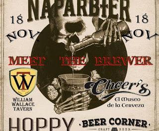 Presentación de la cerveza Sandokan (viernes, 18)