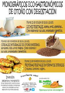 ALLOZA. Monográfico de cereales integrales de otoño-invierno en La Ojinegra (martes, 8)