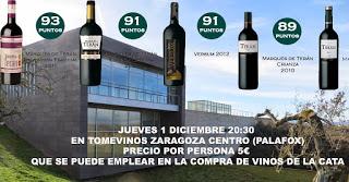 Cata de vinos (jueves, 1)