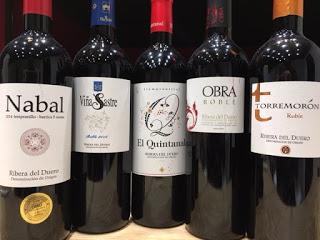 Cata de vinos de Ribera  (jueves, 17)