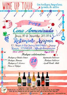 Cena armonizada Wine-up Tour (jueves, 10)