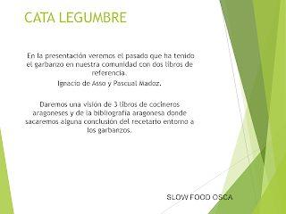 HUESCA. Cata de legumbres en EL ORIGEN (lunes, 14)