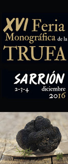 SARRIÓN, Fitruf, feria internacional de la trufa (del 2 al 4 de diciembre)