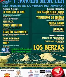 SAN MARTÍN DE MONCAYO. Moncayo Music Fest (del viernes, 2, al lunes, 5)