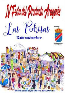 LAS PEDROSAS. IV Feria del Producto Aragonés (sábado, 12)