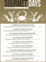 Gourmets Days con centolla gallega en LOS CABEZUDOS y TRAGANTÚA (del 21 al 24)