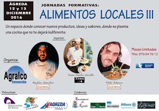 ÁGREDA. Jornadas formativas: Alimentos locales III (lunes, 12, y martes, 13)