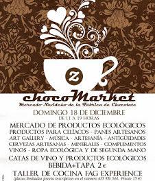 Mercado navideño de la Fábrica de chocolate ChocoMarket (domingo, 18)