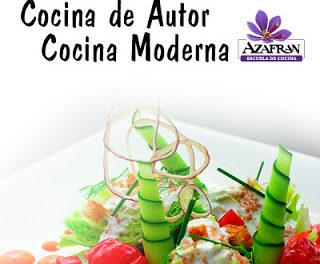 Curso de cocina de autor en AZAFRÁN (de martes, 20, al jueves, 22)