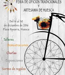 HUESCA. Feria de oficios tradicionales y artesanía (hasta el viernes, 30)