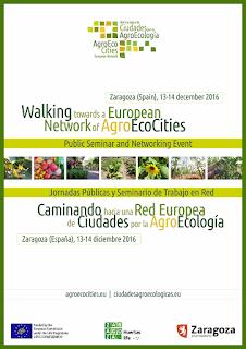 Jornadas de ciudad y agroecología (martes, 13, y miércoles, 14)