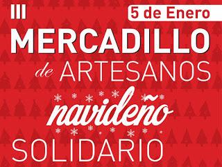 CADRETE. III Mercadillo Artesanal Solidario (jueves, 5)