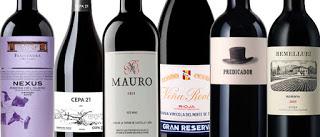"""Cata """"Ribera TOP vs Rioja TOP"""" en TOMEVINOS (viernes, 23)"""