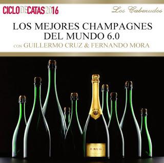 Cata cena maridada con champagne en LOS CABEZUDOS (miércoles, 21)