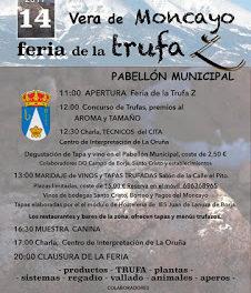 VERA DE MONCAYO. Feria de la Trufa (sábado, 14)