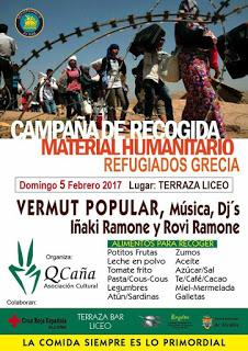 ALCAÑIZ. Vermú popular solidario (domingo, 5)
