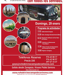 Excursión Ruta del Vino Campo de Cariñena (domingo, 29)