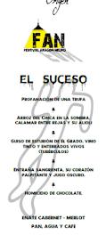 HUESCA. ARAGÓN NEGRO. Cena espectáculo en EL ORIGEN (jueves, 19 y 26 de enero)