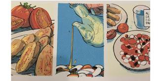 "Exposición de cómics ""Récits et recettes"" (febrero)"