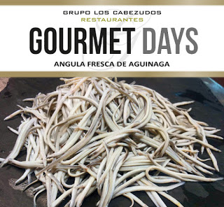 Gourmets Days en LOS CABEZUDOS y TRAGANTÚA con angulas (del 23 al 26)