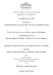 BARBASTRO. Menú de Reyes en RESTAURANTE SOMMOS (viernes, 6)