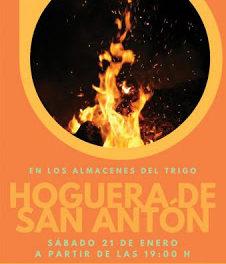 LA PUEBLA DE ALFINDÉN. Hoguera de san Antón (sábado, 21)