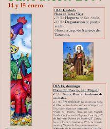 TARAZONA. Fiestas de San Antón (sábado, 14, y domingo, 15)