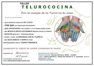 HUESCA. Taller de Telurococina (viernes, 20)