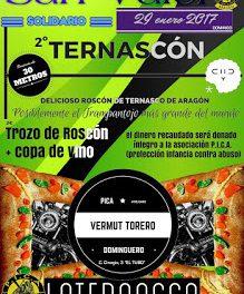 Vermú torero y solidario en LA TERNASCA (domingo, 29)